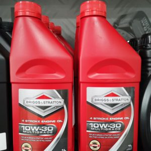 GENUINE BRIGGS & STRATTON 4 STROKE 1 LITRES MULTIGRADE ENGINE OIL 10W/30 HA27306A