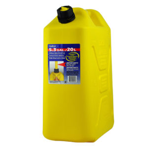 SCEPTER PLASTIC CAN YELLOW  20L