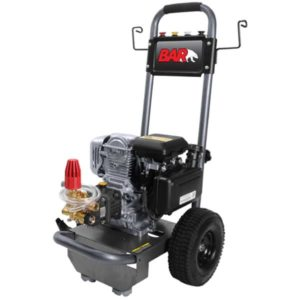 BAR 3160A-H – 3100PSI Petro Cold Water Pressure Washer