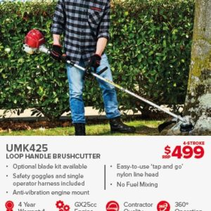 HONDA UMK425 LOOP HANDLE BRUSHCUTTER