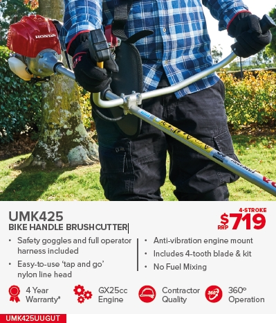 HONDA UMK425 BIKE HANDLE BRUSHCUTTER