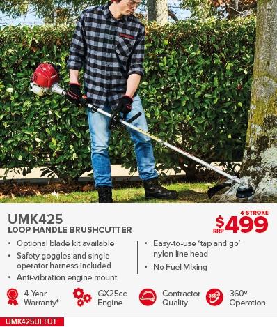 HONDA UMK425 LOOP HANDLE BRUSHCUTTER