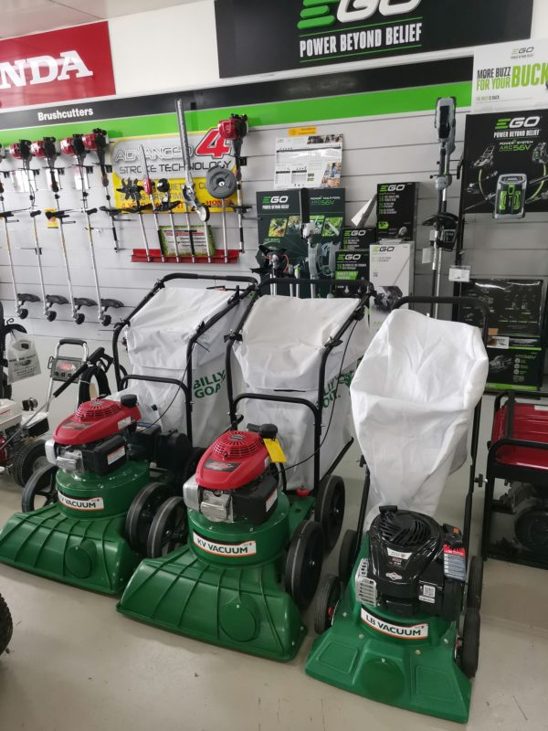 883063 BILLYGOAT KV650SPHFB Residential/Light Commercial Petrol-powered Vacuums